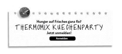 Thermomix Küchenparty
