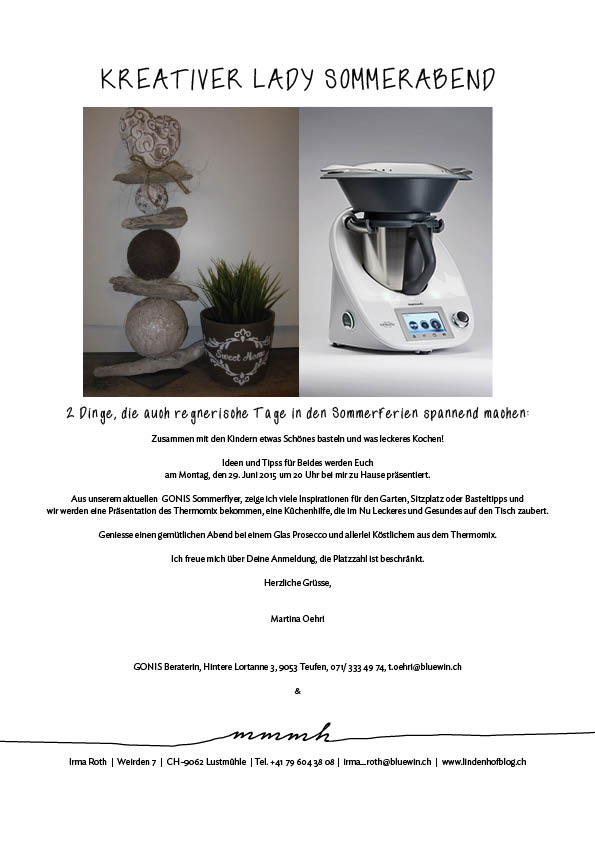 Gonis & Thermomix 29.6.15