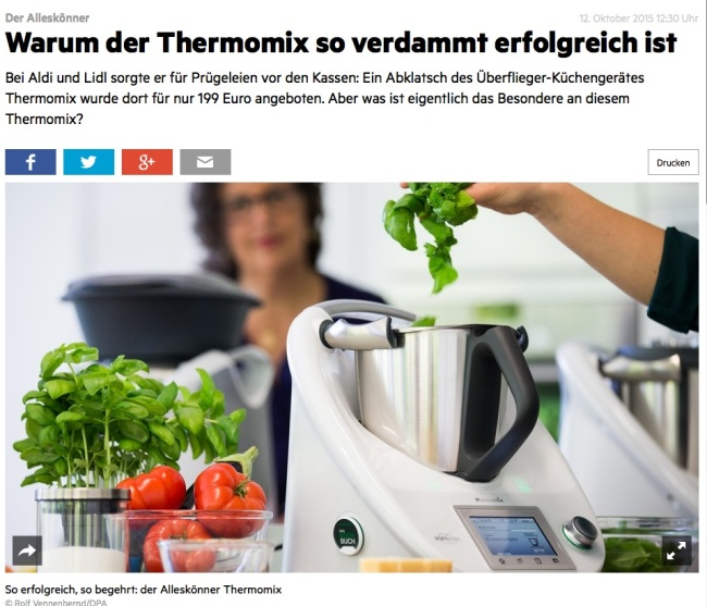 Thermomix im Stern